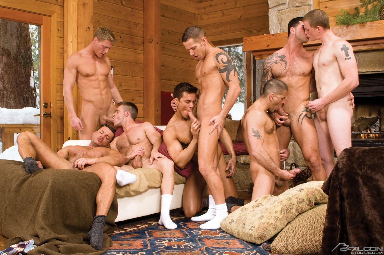 group gay hairy