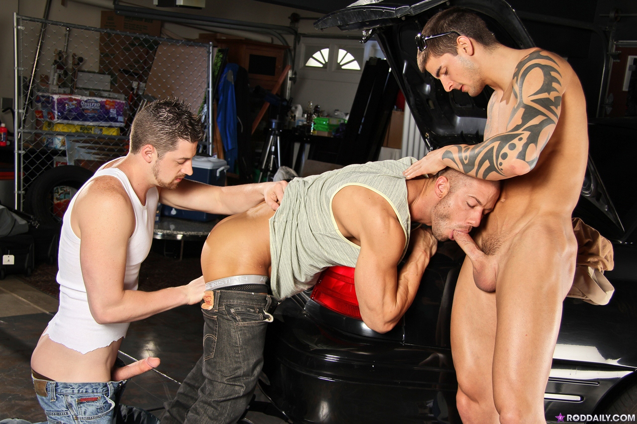Andrew stark and pals cum at an orgy 10