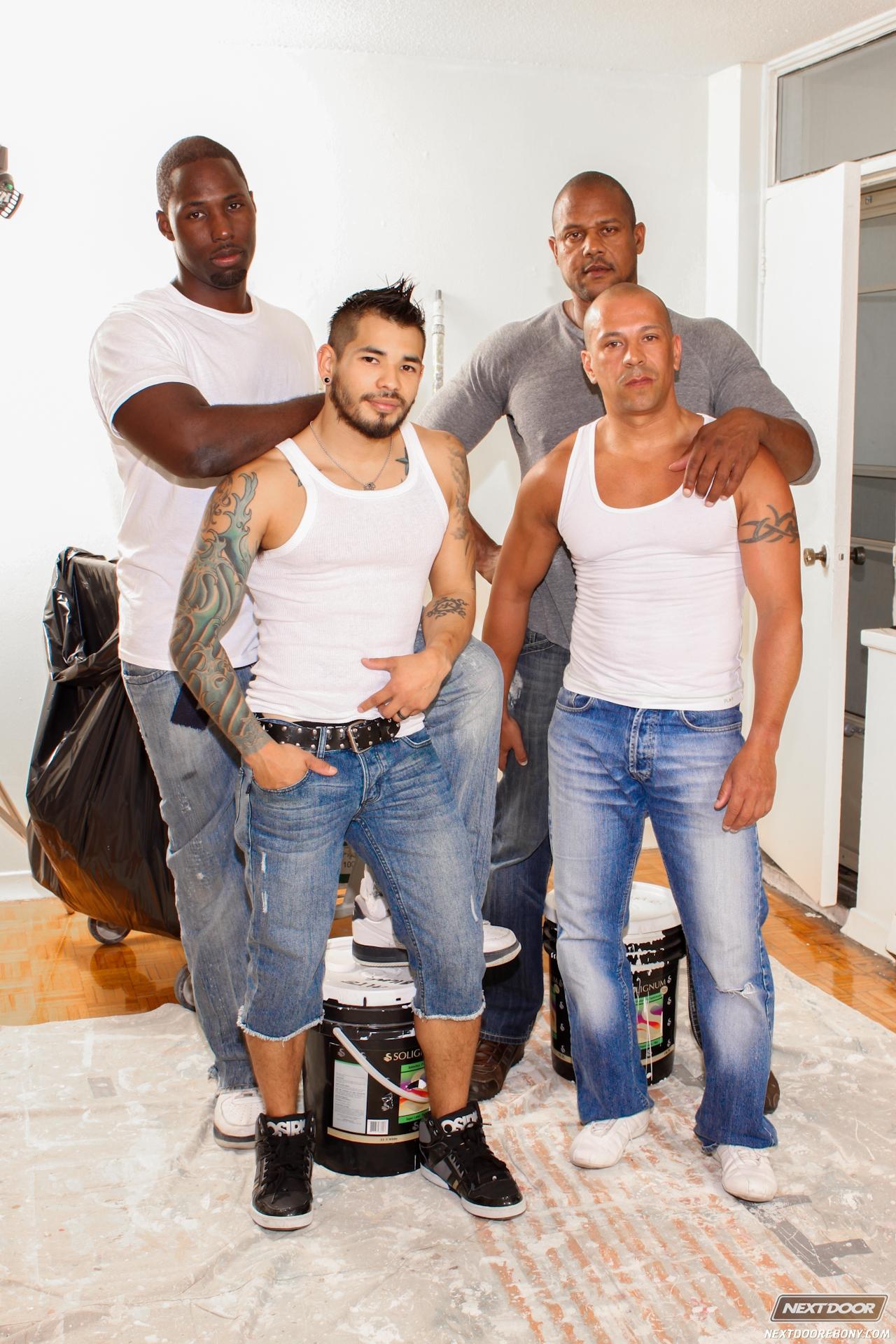 HD Gays   Nubius - Luc Bonay - Draven Torres - Aron Ridge