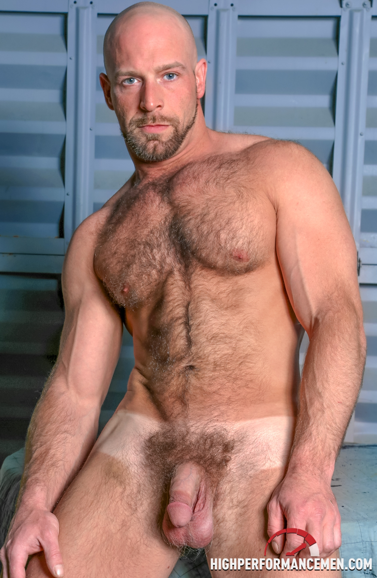 Hot hairy naked men